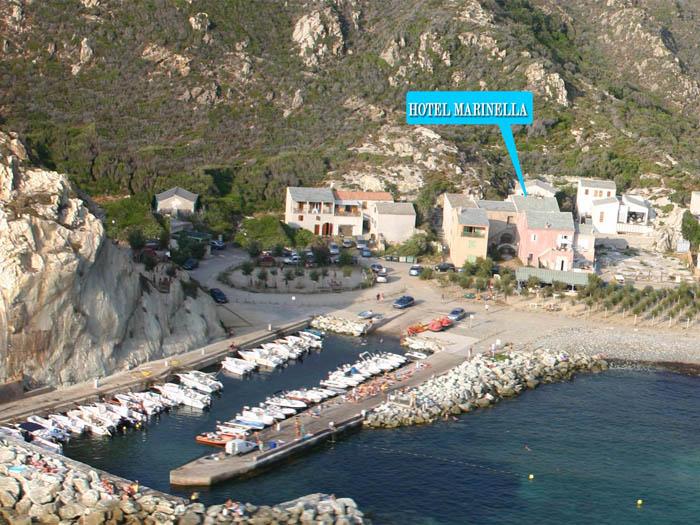 H tel marinella la for Hotels corse